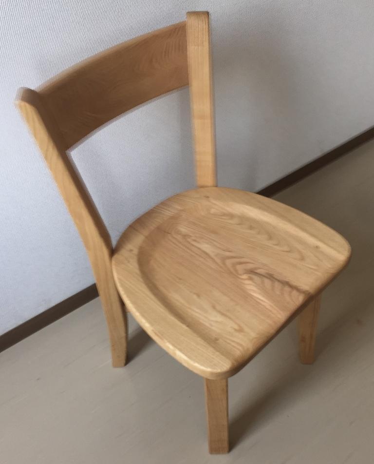 椅子の背付椅子