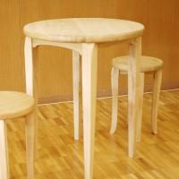 栗の丸Caféテーブル&チェア