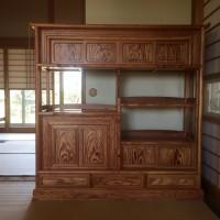 松の飾り棚