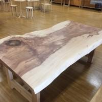 栃食卓テーブル183