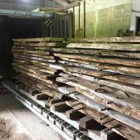 乾燥室栗材