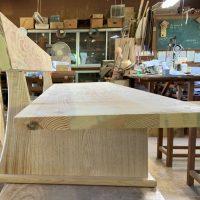 松の座卓用ベンチ